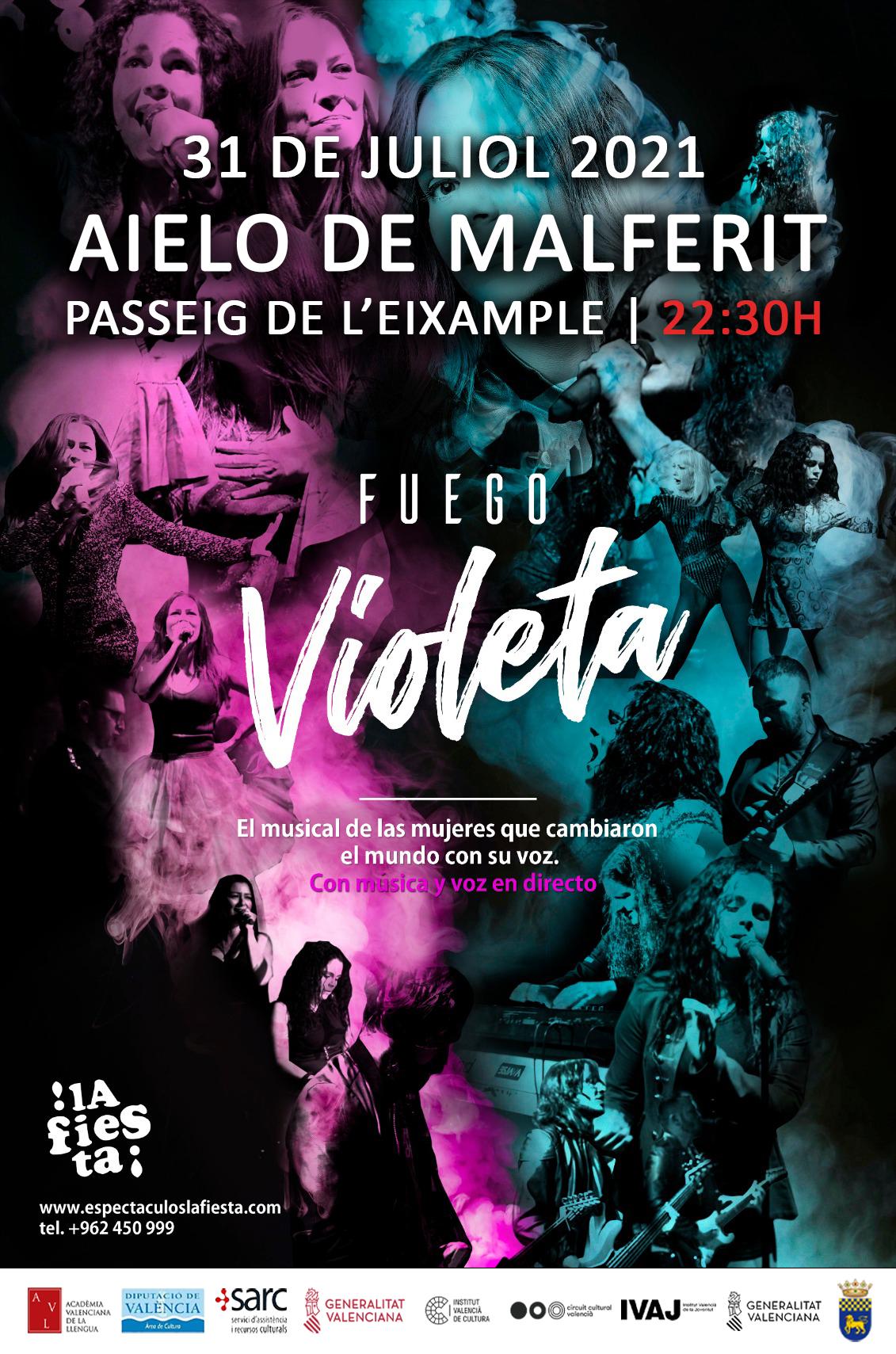 ESPECTACLE MUSICAL | FUEGO VIOLETA