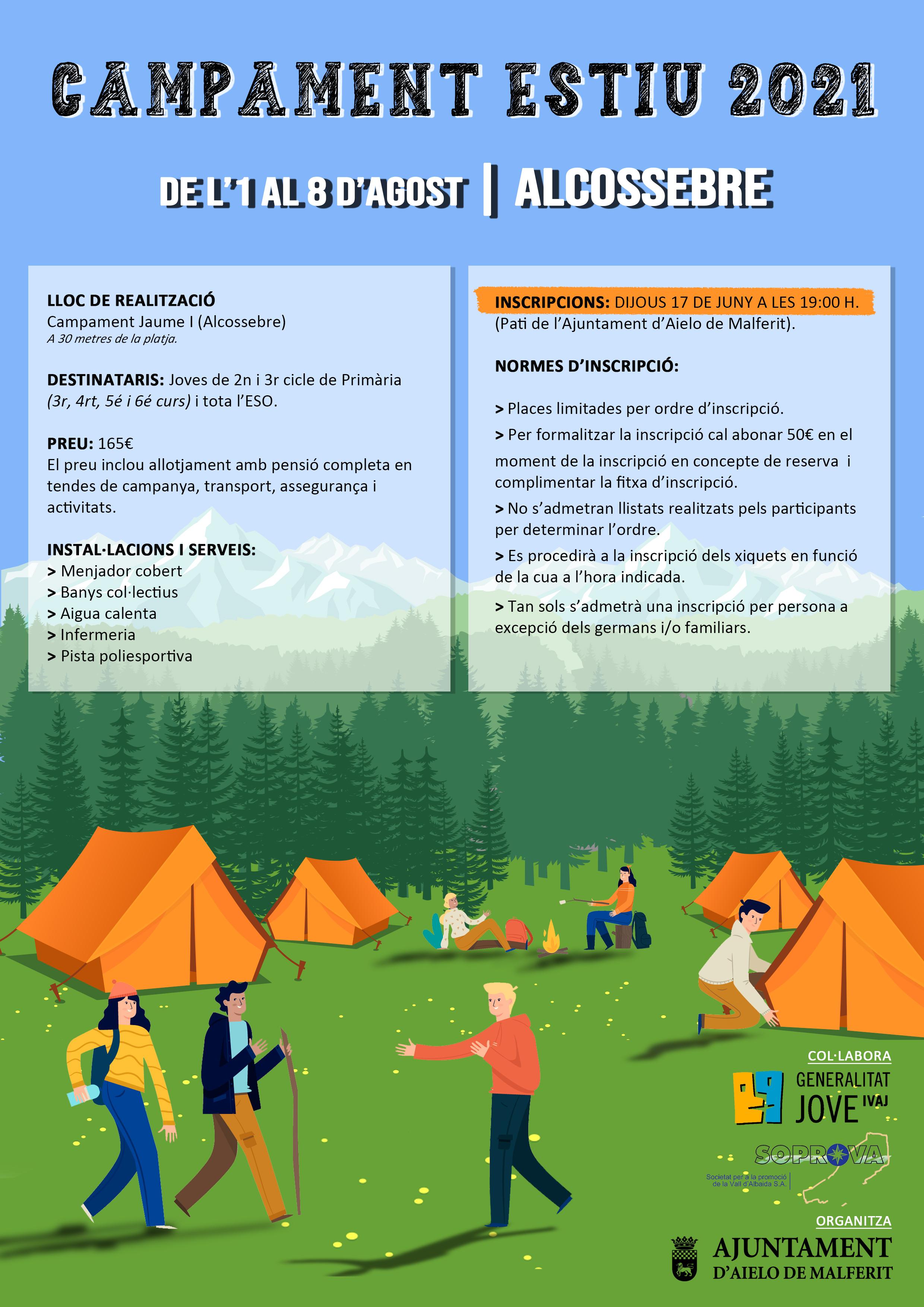 De l 1 al 8 d agost en Alcossebre