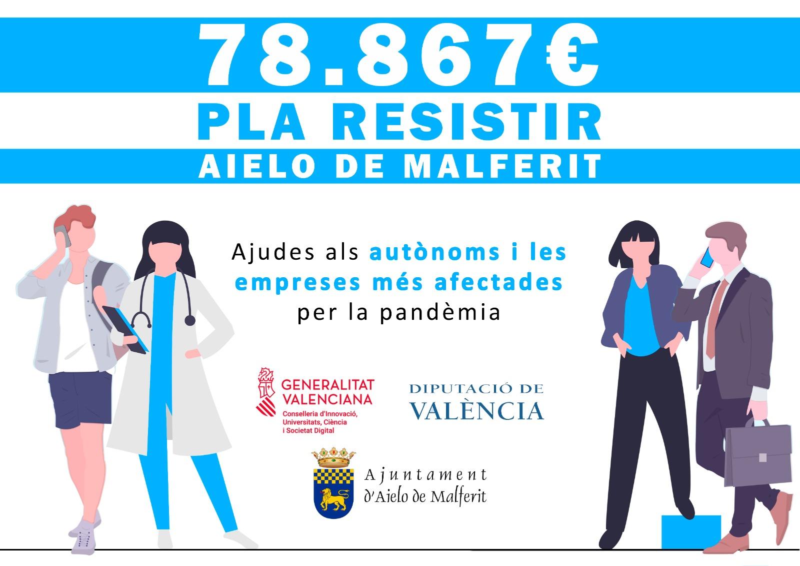 L'Ajuntament d'Aielo de Malferit s'adhereix al Pla Resistir de la GVA