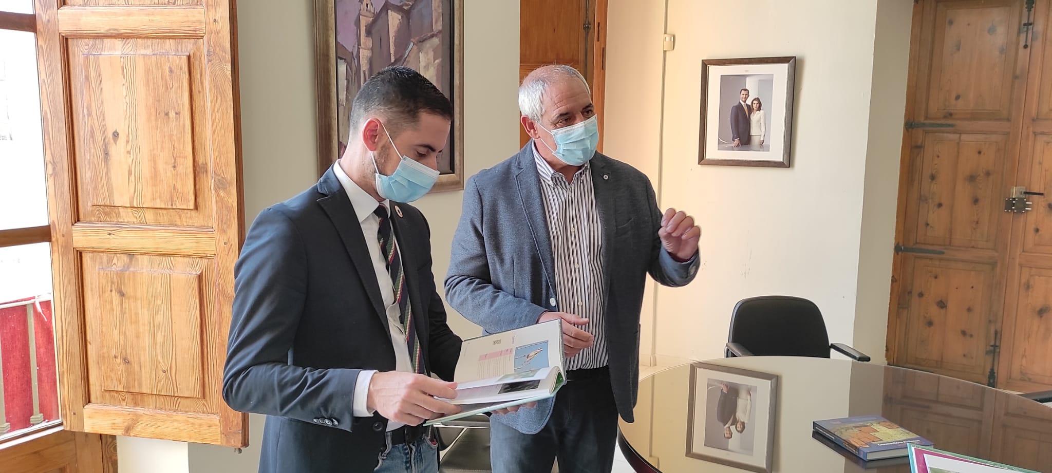 Aielo de Malferit rep la visita del Vicepresident de la Diputació de València, Carlos Fernández Bielsa