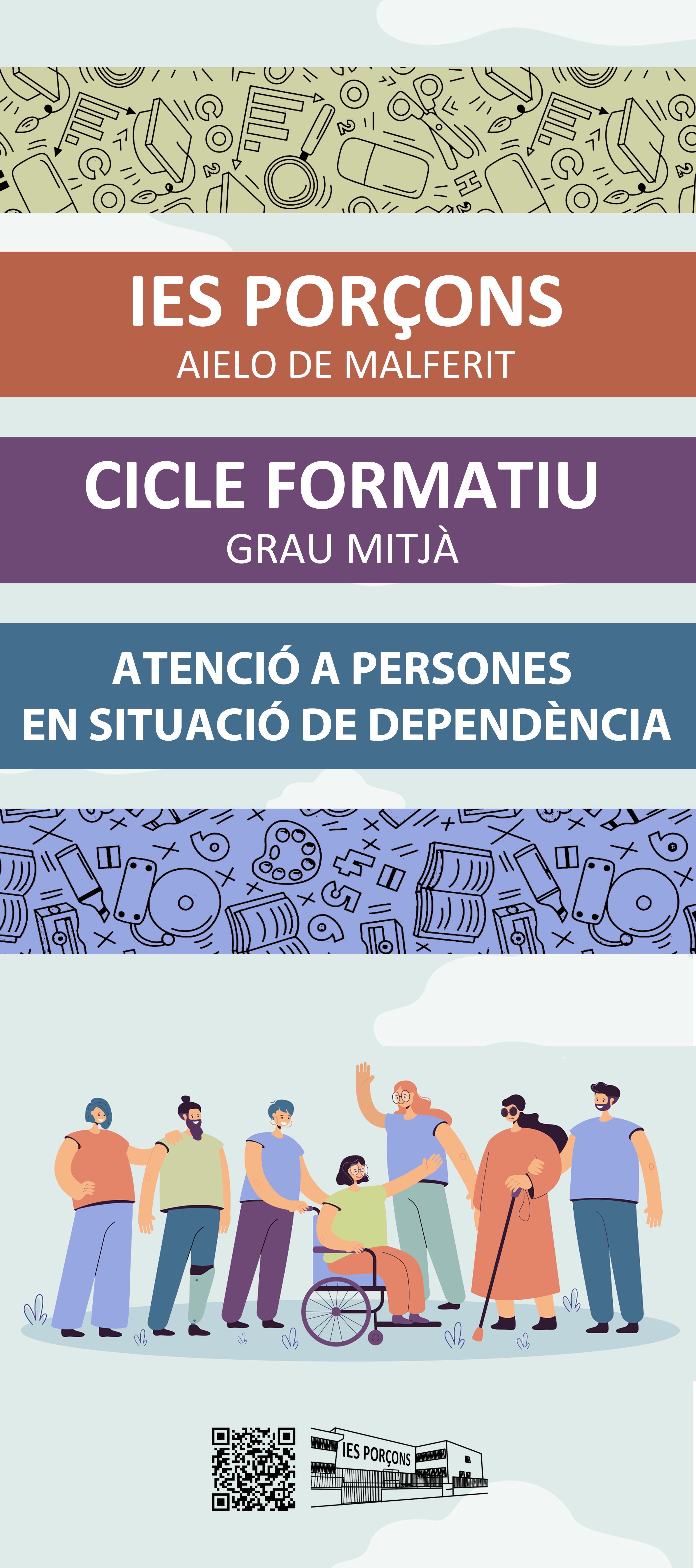IES PORÇONS | Nou FP d'Atenció a Persones en Situació de Dependència