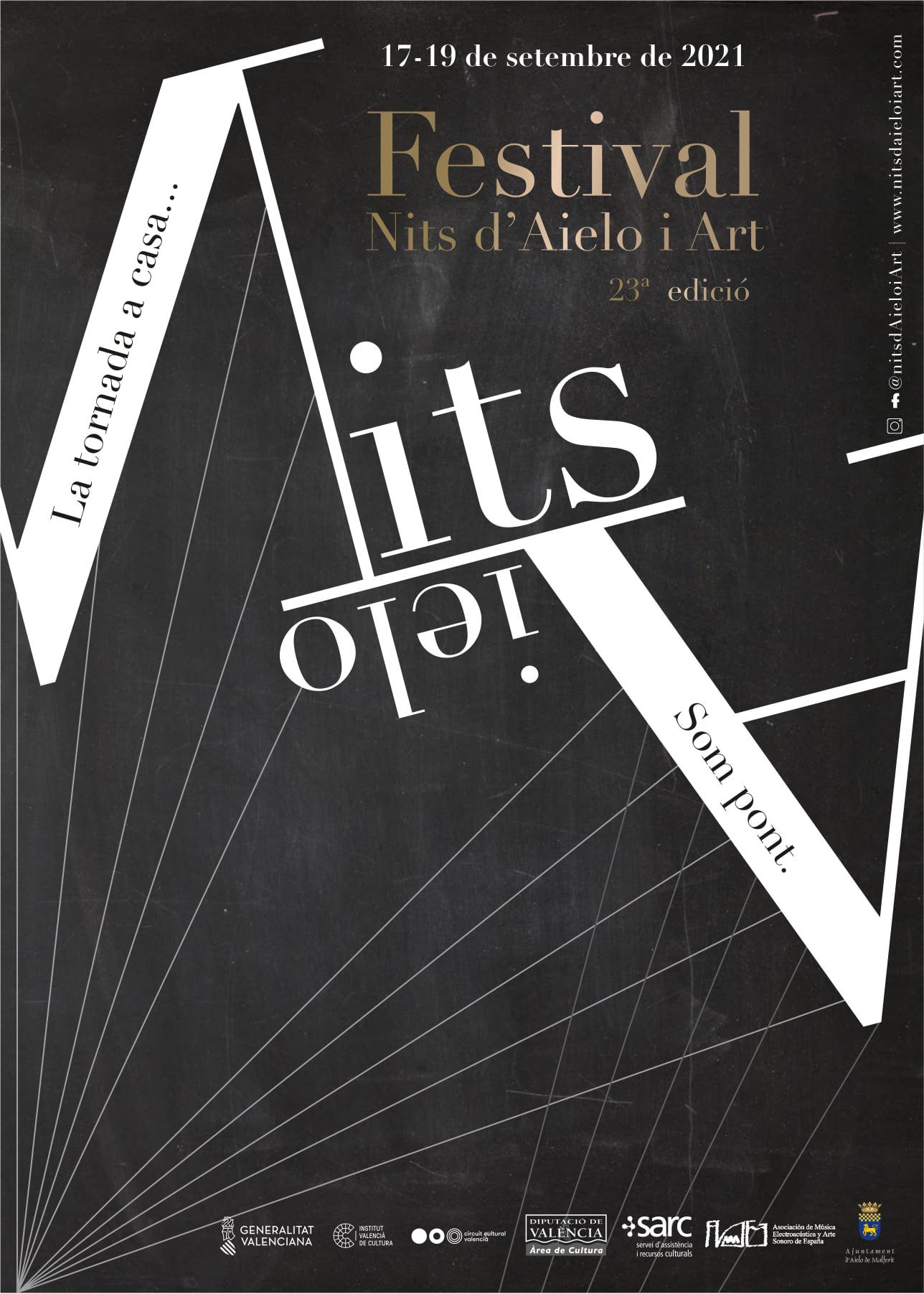 """Aielo de Malferit recupera el festival de música experimental i art sonor """"Nits d'Aielo i Art"""""""