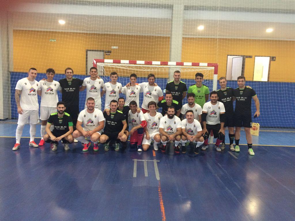 "Aielo de Malferit presenta l'equip local federat de futbol sala ""Nou Color Aielo Futsal"""